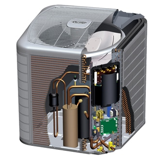 Carrier Heat Pump 25VNA0
