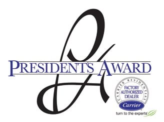 Carrier Presidents Award - for Crystal Heating and Cooling