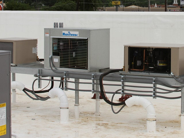 Panda Express Refrigeration units by Crystal Heating and Cooling