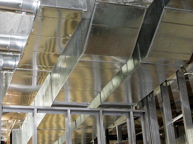 Fish Ductwork by Crystal Heating and Cooling