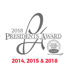 Carrier Presidents Award - 2014, 2015 & 2018