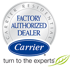 We're a Factory Auythorized Carrier Dealer