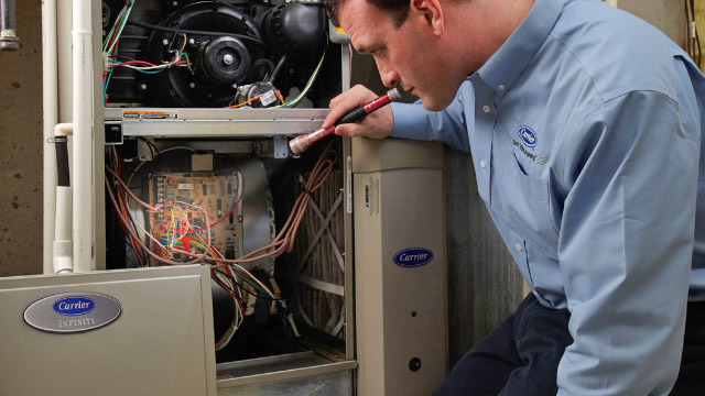Furnace Repair by Crystal Heating & Cooling