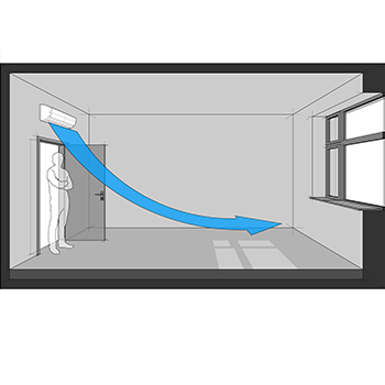 Ductless airflow